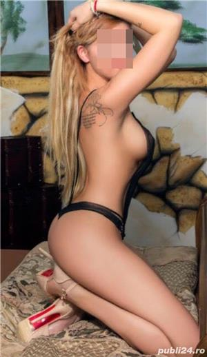 Escorte Bucuresti Sex: Blonda high class Poze reale confirm cu tatuajele